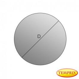 Kaminscheibe 4mm selbstreinigend  Kreis, Kaminglas, Ofenglas, Glasscheibe für den Kamin