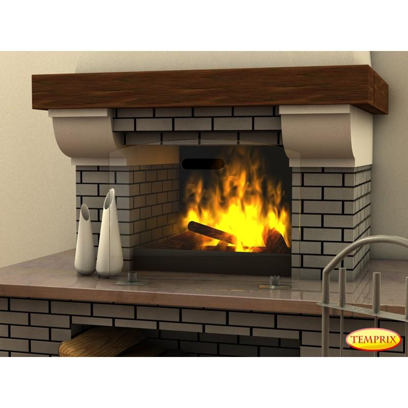 funkenschutz alfa klarglas. Black Bedroom Furniture Sets. Home Design Ideas