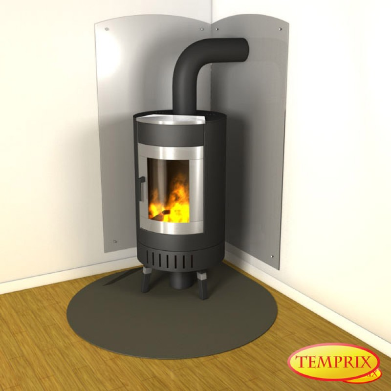 bodenplatte stahl grau form j2. Black Bedroom Furniture Sets. Home Design Ideas
