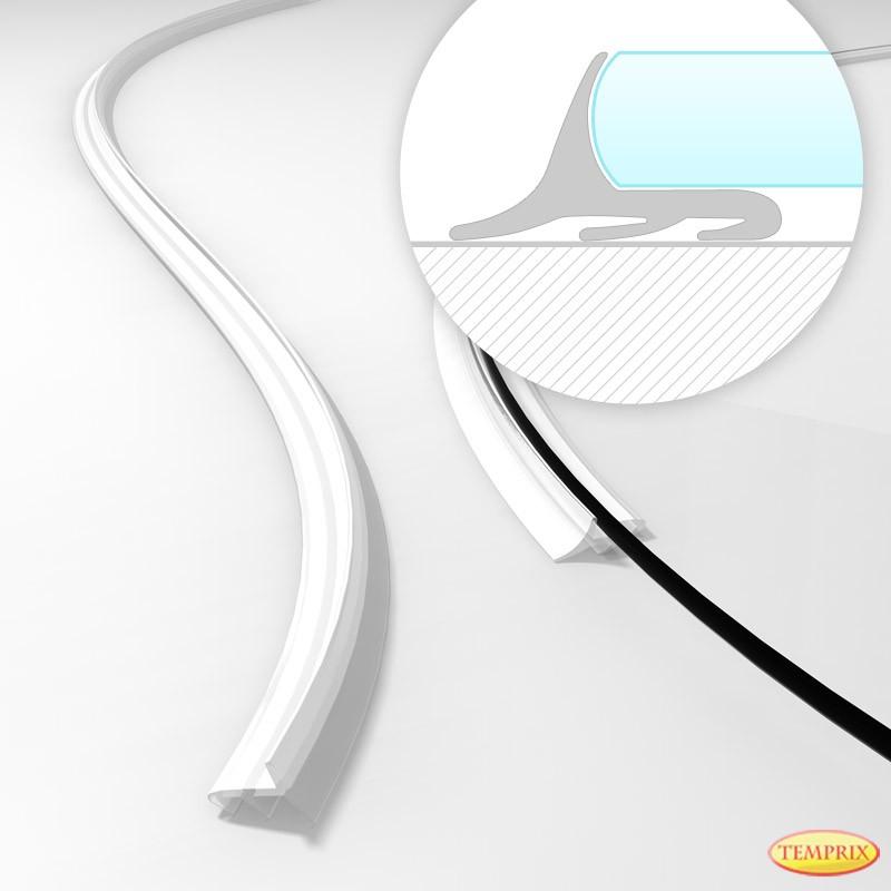 Top Schmutzdichtung für Kaminbodenplatten aus Glas QR28