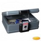First Alert Feuer- und wasserfeste Dokumentenbox, feuerfeste Geldkassette 5,5 Liter