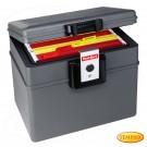 First Alert feuer- und wasserfester Dokumententresor, Geldkassette, Aktentresor Volumen 17,6 Liter