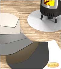Kaminbodenplatte Bodenplatte aus Glas Kaminbodenplatten Bodenplatten Glasbodenplatte Funkenschutzplatte Kaminofen Ofenplatte Bodenglasplatte Kamin Edelstahl ESG Sicherheitsglas Kundenwunsch